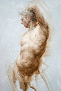 With energy and panache, Shane Wolf revitalizes the classical painting tradition. Learn how he creates an alla prima sketch of the male figure in this web extra. Human Figure Drawing, Figure Drawing Reference, Life Drawing, Figure Painting, Painting & Drawing, Academic Art, Male Figure, Gay Art, Drawing People
