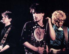 Edge, Bono and Larry (1980)