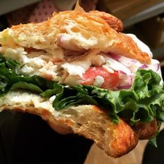 Treat Yourself With Croissant Sandwiches  18 pics  Lunch