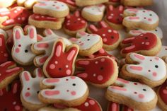 Chinese New Year Mini Cookies bunnies