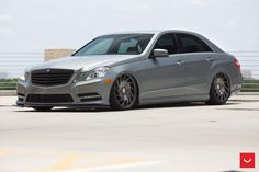 Mercedes-Benz W212 E350 on Vossen VLE1 | BENZTUNING | Performance and Style