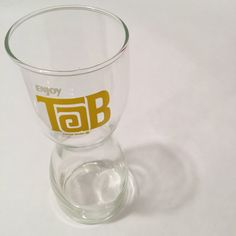 Vintage Tab Glass  Coca-Cola Co  Enjoy Tab by MyVintagePoint
