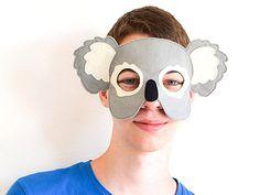 Máscara Koala adulta máscara de un Animal para por BHBKidstyle