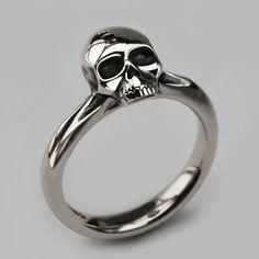 skulls jewelry rock Grunge skull fierce jewellery gothic skull ...