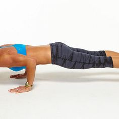 5/9 Plank Challenge: Basic Triceps Push-Up - Fitnessmagazine.com