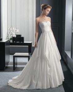 Relato vestido de novia two Rosa Clara
