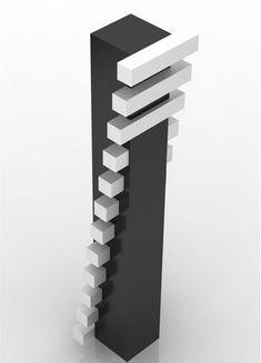 Geometric Sculpture, Abstract Sculpture, Wood Sculpture, Geometric Art, Concept Architecture, Futuristic Architecture, Architecture Design, Metal Art, Wood Art