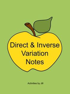 Worksheets Printable Direct And Inverse Variation Worksheet With Answer Key make solving direct and inverse variations more enjoyable for your variation notes