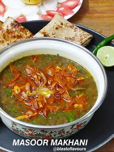 Masoor Dal, Dal Recipe, Coriander Powder, Coriander Leaves, Garam Masala, Lentils, Indian Food Recipes, Art Work, Slow Cooker