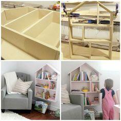 18 Idées de bibliothèques originales pour la chambre des enfants