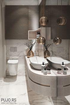 Modern Luxury Bathroom, Bathroom Design Luxury, Beautiful Bathrooms, Bathroom Plans, Bathroom Layout, Small Bathroom, Washroom Design, Toilet Design, Ambiance Hotel