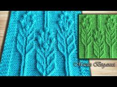 Мобильный LiveInternet УЗОРЫ СПИЦАМИ ОТ МАГИИ ВЯЗАНИЯ. | mamalucha - Дневник mamalucha | Lace Knitting Patterns, Knitting Stitches, Baby Knitting, Crochet Flower Tutorial, Crochet Flowers, Filet Crochet, Knit Crochet, Knitting Videos, Quilts