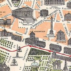 Map of Paris 1900 | Old Maps of Paris. Find addresses and who lived there: http://www.parisrevolutionnaire.com/spip.php?rubrique3