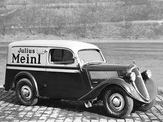 Skoda Popular Van