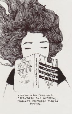 A veces la lectura nocturna nos abre la puerta al sueño (ilustración de Jenny Yu)