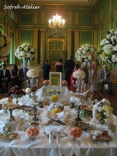 by Sofreh Atelier (Iranian Wedding Traditional Display).  LOVE IT.