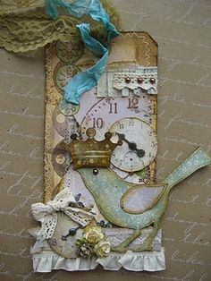 tag, altered art