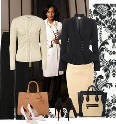 Olivia Pope Style: Gladiator in a Suit