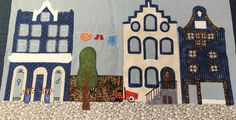 Disse Amsterdamhuse er syet af min kursist Elisabeth Melgaard hos Speich Design i 2014.