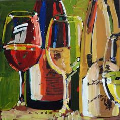 Alsace Red and White by Carole Wade