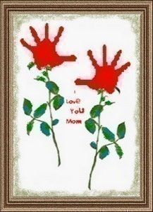Preschool Crafts for Kids*: Valentine's Day/Mother's Day Hand print Flowers Craft Kids Crafts, Cute Crafts, Crafts To Do, Preschool Crafts, Arts And Crafts, Preschool Christmas, Free Preschool, Christmas Decor, Mothers Day Crafts