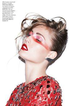 Photo Nadja Bender by Katja Rahlwes for Flair Magazine Issue 6