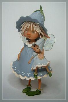 Мини-куклы от Diana Guelinckx De Becker.