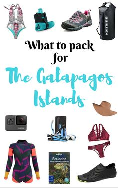 What to pack for the Galapagos Islands. One of the most important ways to prepare your trip is to know what to pack. Here is my top list of what to pack for a trip to the Galapagos Islands.