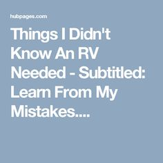 When I bought my RV, I had NO idea what I was getting into. RVing can be an expensive 'sport! Here's some of my favorite accessories. Travel Trailer Camping, Camping Car, Camping Hacks, Rv Hacks, Camping Stuff, Life Hacks, Camper Life, Rv Campers, Rv Life