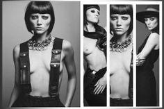 B&W Fashion Editorial Shoot by  Five//Thirty