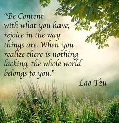 Lao Tzu quotes contentment | Leave a Reply Cancel reply