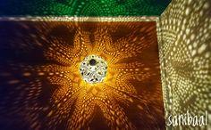 Lass auch dein inneres Licht strahlen 💖🎇☀️  Dieses stimmungsvolles Licht leuchtet in meiner Praxis. Dieses Muster fasziniert mich immer wieder aufs Neue. Table Lamp, Home Decor, Beams, Light Fixtures, Patterns, Lamp Table, Decoration Home, Room Decor, Table Lamps