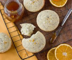 Recipe:  Orange Poppy Seed Muffins   Recipes from The Kitchn