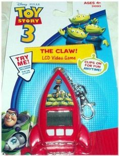 Disney Pixar Toy Story 3 The Claw LCD Video Game Keychain