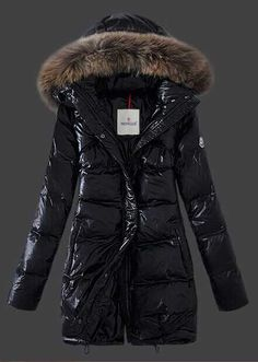 Moncler Women Parnassie Down Coat Black