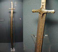 Sword of Mehmet the Conqueror; Topkapı Palace, Istanbul, Turkey.