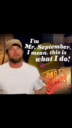 Walt party down south