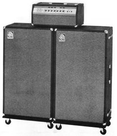 "AMPEG SVT - THE Bass Amp of rock godz.  Follow link to AMPEG site for the SVT STORY. http://www.ampeg.com/history.html - ""I still have my early 70s SVT that I rocked with Kings Of Feedback."" - BTM"