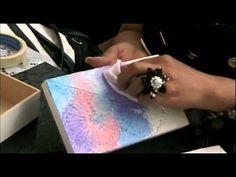 Técnica de Pintura en Textura - YouTube