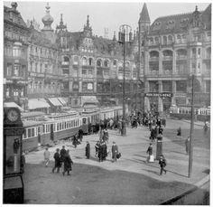 Der Spittelmarkt in den 20ern