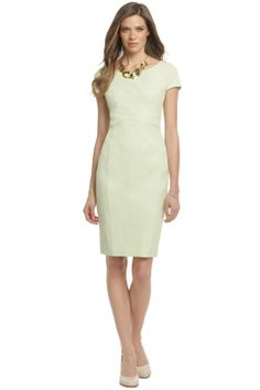 Narciso Rodriguez Lime Sorbet Sheath