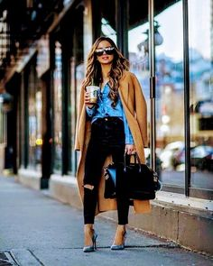 Style vestimentaire femme casual chic 51 ideas for 2019 Look Fashion, Trendy Fashion, Autumn Fashion, Fashion Outfits, Womens Fashion, Fashion Trends, Trendy Style, Fashion Hats, Feminine Fashion