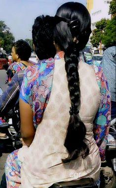 Indian Long Hair Braid, Braids For Long Hair, Hair Shows, Braided Hairstyles, Dreadlocks, Long Hair Styles, Beauty, Long Hairstyle, Braid Hair