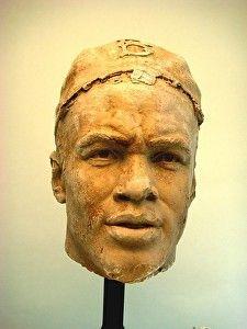 Jackie Robinson by artist William Behrends. #bronze #sculpture found on the FASO Daily Art Show - http://dailyartshow.faso.com