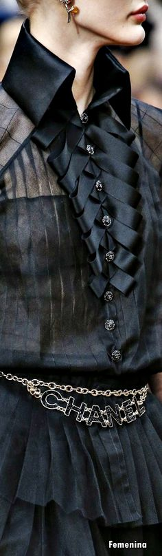 Chanel Fall Winter 2018 - Detail