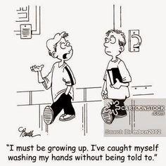 15th Is Global Handwashing Day Comic |Funny Hand Washing Cartoons