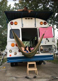 Bus Living, Tiny Living, Wolkswagen Van, Kombi Trailer, Camper Trailers, Travel Trailers, Mini Van, School Bus Conversion, Conversion Van