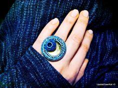 Indigo Eclipse <3 Indigo, Gemstone Rings, Touch, Jewellery, Gemstones, Beauty, Jewels, Indigo Dye, Gems