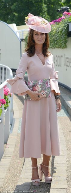 Naomi Maguire attends day two of Royal Ascot...