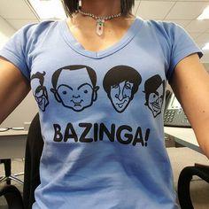 Hoy es #viernes 13... #Bazinga! #friday #casual